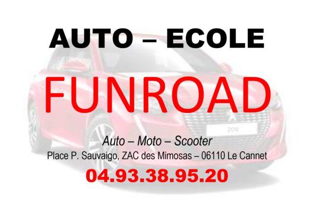 Profitez de l'offre de notre nouveau partenaire l'auto-moto école FUN ROAD