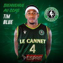 Tim Blue arrive au Cannet !