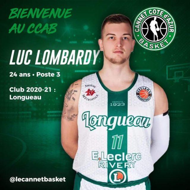 """Luc Lombardy """" Je suis très heureux d'arriver au CCAB """""""